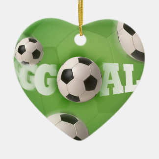 Soccer Ball Football Goal - Ornament