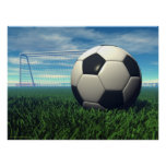 Soccer Ball (football) Posters