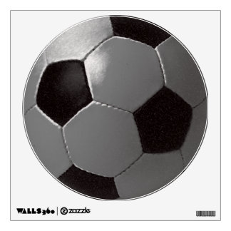 Soccer ball for walls wall decal