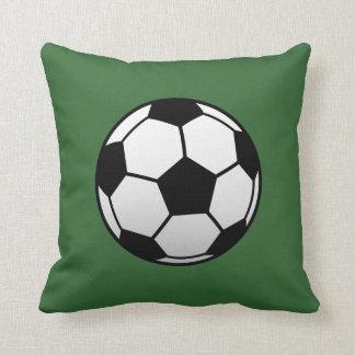 Soccer Ball Futbol products Throw Pillows