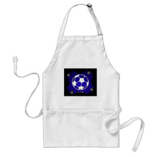 SOCCER BALL GIFTS CUSTOMIZABLE PRODUCTS ADULT APRON
