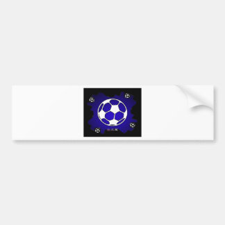 SOCCER BALL GIFTS CUSTOMIZABLE PRODUCTS BUMPER STICKER
