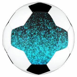 Soccer Ball Glitter Dust Background