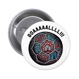 Soccer Ball GOAL Pin