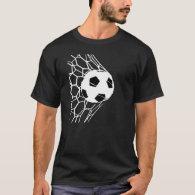 Soccer Ball Goal Mens Tee