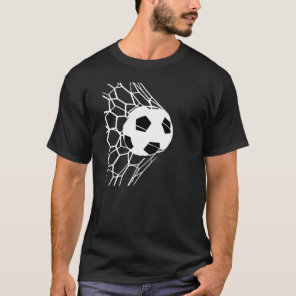 Soccer Ball Goal Mens Tee