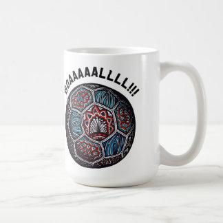 Soccer Ball GOAL Mugs
