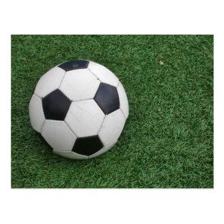 Soccer Ball H postcard