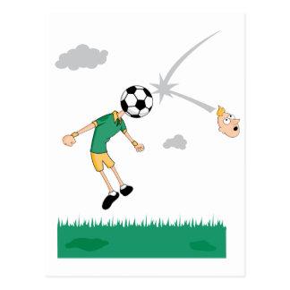 Soccer Ball Header Postcards