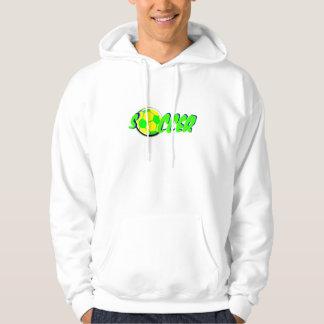 Soccer Ball Hooded Sweatshirt