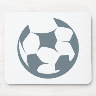Soccer Ball Icon Mouse Pad