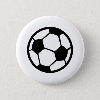 soccer ball icon pinback button