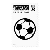 soccer ball icon postage