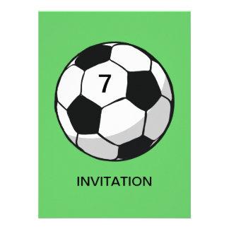 Soccer Ball Illustration Announcements