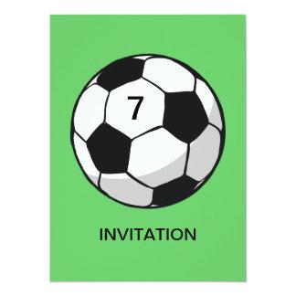 Soccer Ball Illustration Card
