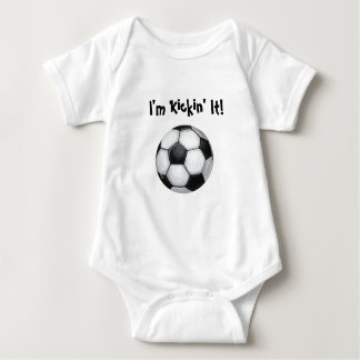Soccer Ball, I'm Kickin' it! Infant's Shirt