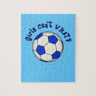 Soccer Ball in Blue Puzzles