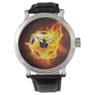 Soccer Ball in Flames Watch (Multiple Models)