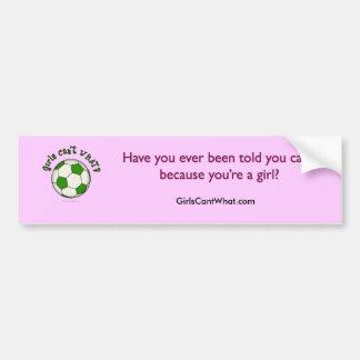 Soccer Ball in Green Bumper Sticker
