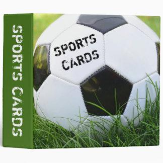 "Soccer Ball in the Grass 2"" Sports Card Binder"