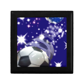 Soccer Ball in the infinity Jewelry Box