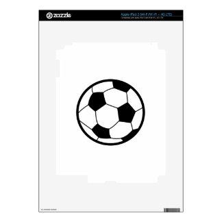 Soccer Ball iPad 3 Decals