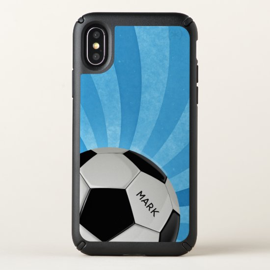 Soccer Ball iPhone X Case
