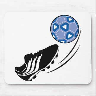 Soccer Ball Kick Mouse Pad