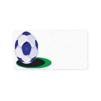 Soccer Ball Label