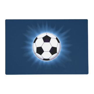 Soccer Ball Laminated Placemat
