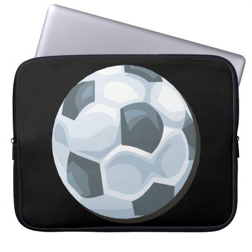 Soccer Ball Laptop Computer Sleeve