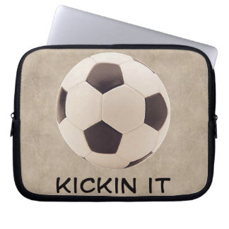 Soccer Ball Laptop Computer Sleeves