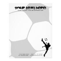 soccer ball letterhead
