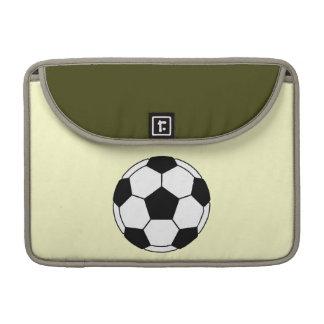 Soccer ball MacBook pro sleeves