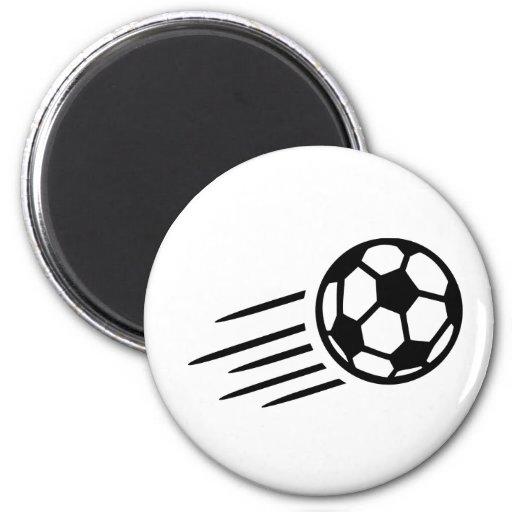 Soccer ball magnets
