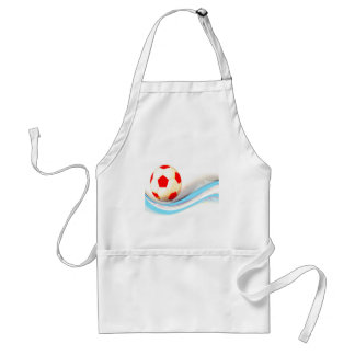 Soccer Ball Mania! Adult Apron
