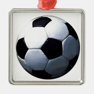 Soccer Ball Metal Ornament