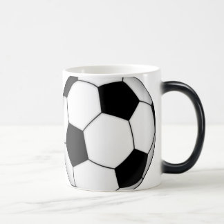 Soccer Ball Morphing Coffee Mug