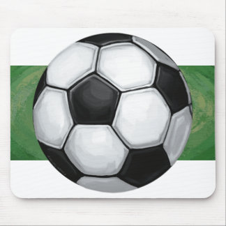 Soccer Ball Mouse Pad