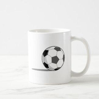 Soccer Ball Classic White Coffee Mug
