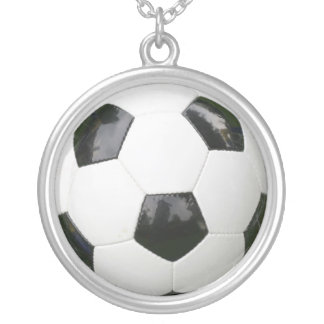 soccer ball necklaces
