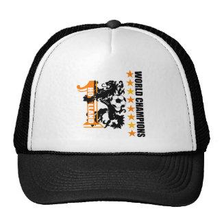 Soccer ball Netherlands World No 1 Voetbal Mesh Hats