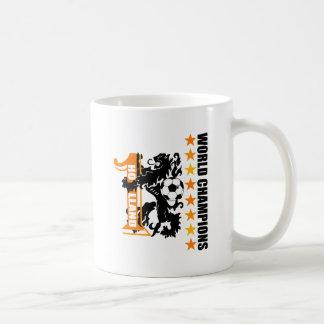 Soccer ball Netherlands World No 1 Voetbal Coffee Mugs