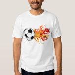 Soccer Ball of Fire Shirt