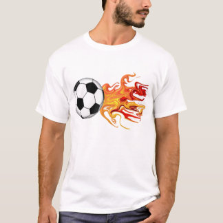Soccer Ball of Fire T-Shirt