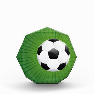 Soccer Ball on Rays Background2 Award