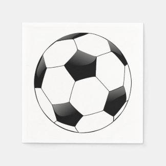 Soccer Ball Paper Napkin