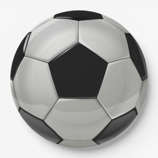 Soccer Ball Party Paper Plates