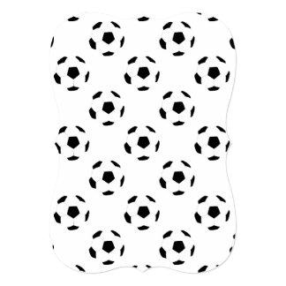 Soccer Ball Pattern Card