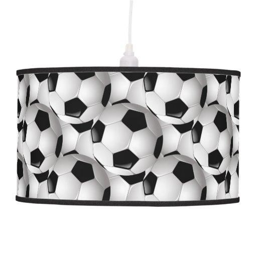 Heico Soccer Ball Lamp: Soccer Ball Pattern Ceiling Lamp